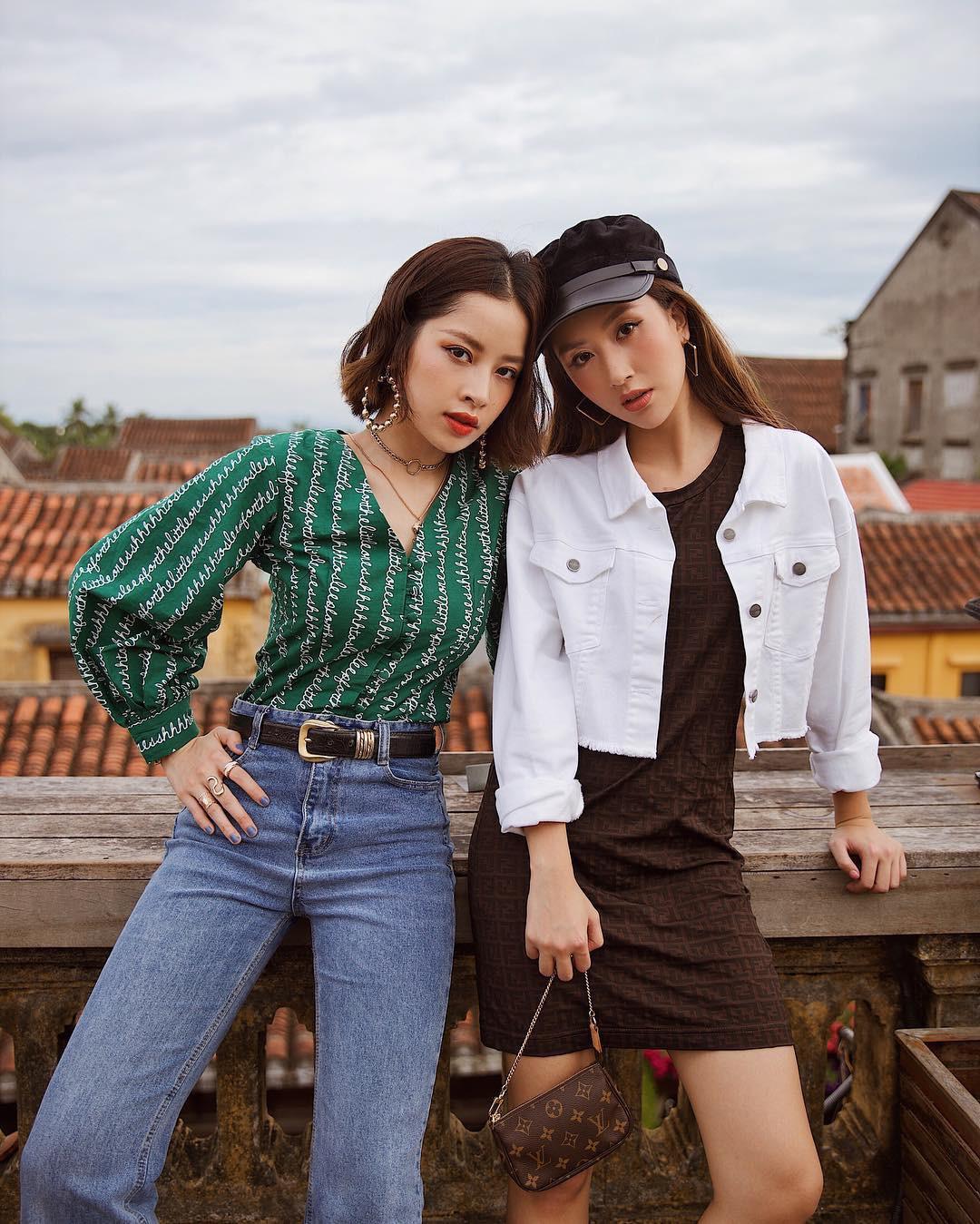 Dù đi theo những phong cách và định hướng khác nhau nhưng Chi Pu và Quỳnh Anh Shyn vẫn đôi lần trông không khác gì chị em.