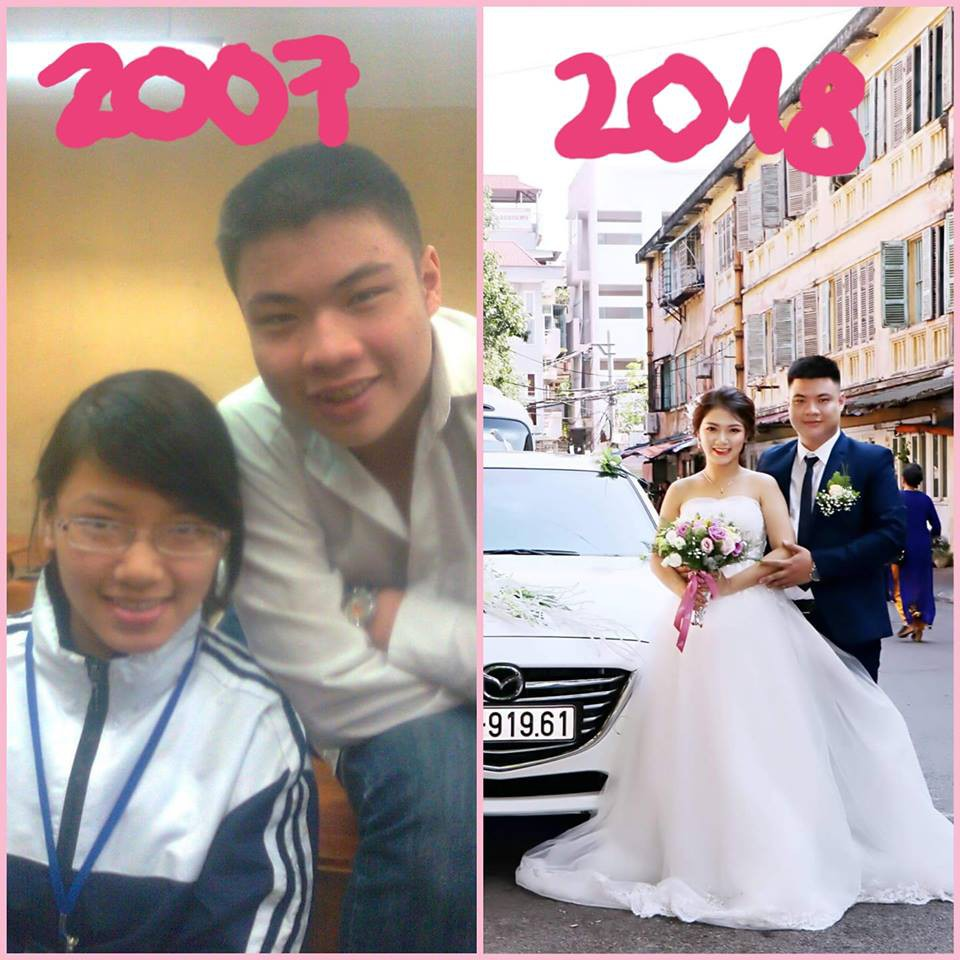 Dân mạng tự hào khoe ảnh cưới luôn bạn học năm ấy, có người đã bên nhau tới 11 năm - Ảnh 16.