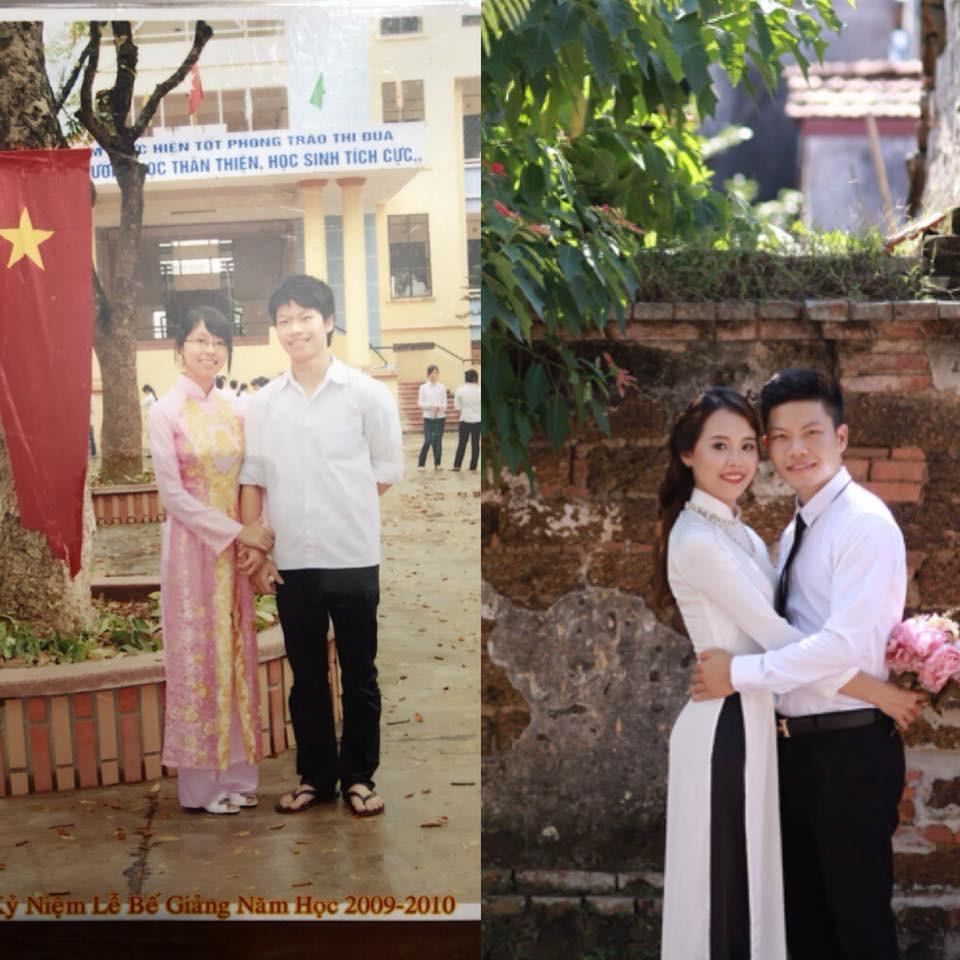 Dân mạng tự hào khoe ảnh cưới luôn bạn học năm ấy, có người đã bên nhau tới 11 năm - Ảnh 22.