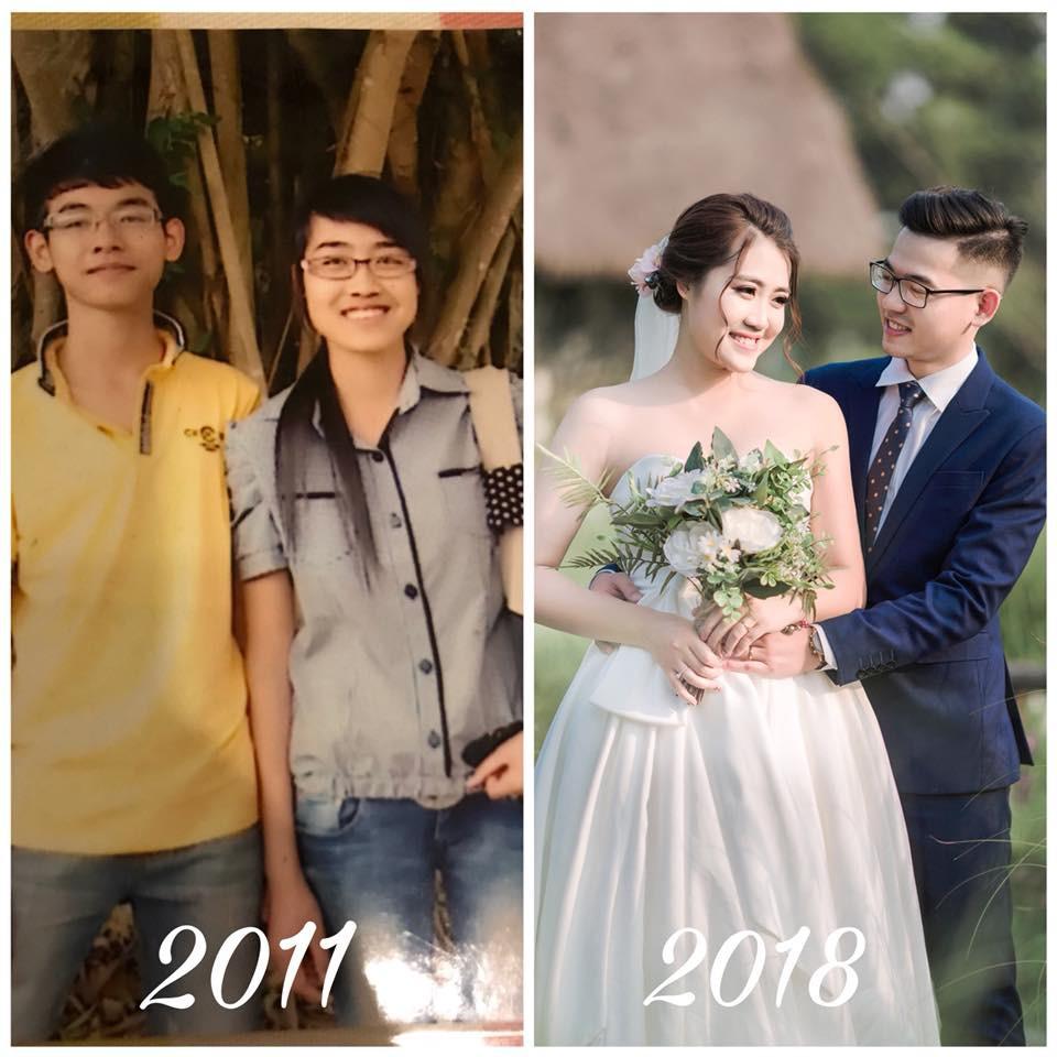 Dân mạng tự hào khoe ảnh cưới luôn bạn học năm ấy, có người đã bên nhau tới 11 năm - Ảnh 6.
