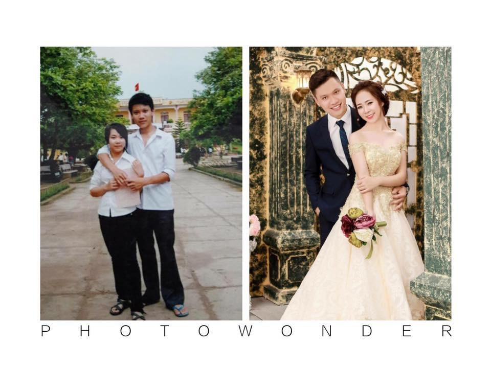 Dân mạng tự hào khoe ảnh cưới luôn bạn học năm ấy, có người đã bên nhau tới 11 năm - Ảnh 18.