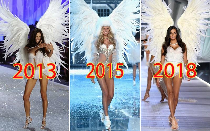 Vậy xem ra đôi cánh này đã được sử dụng trong 3 năm ngắt quãng nhau, cho thấy Victoria's Secret cũng rất quan tâm đến chuyện tái chế lại đồ cũ đấy chứ?