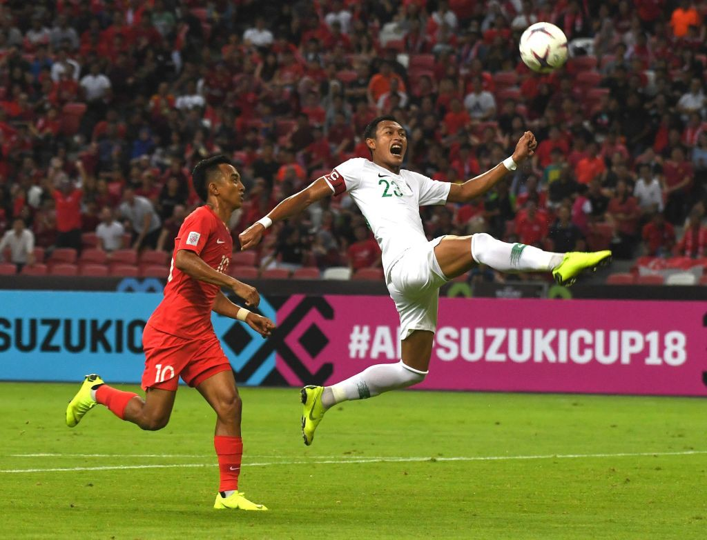 Bad game, Indonesia lost silver to Singapore in table B AFF Cup 2018 - Photo 5.