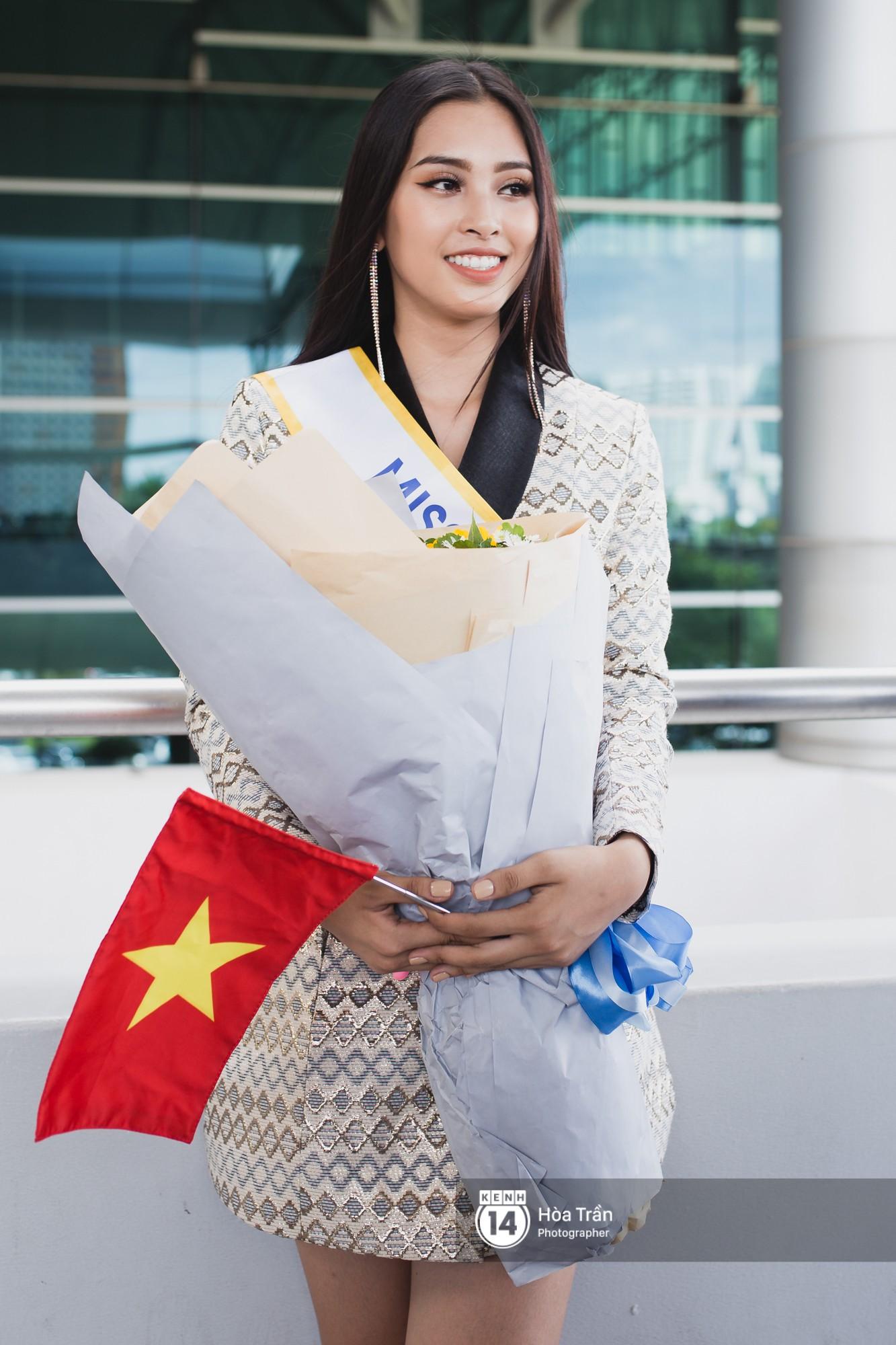 Trần Tiểu Vy sang Trung Quốc thi Miss World 2018 - Ảnh 4.