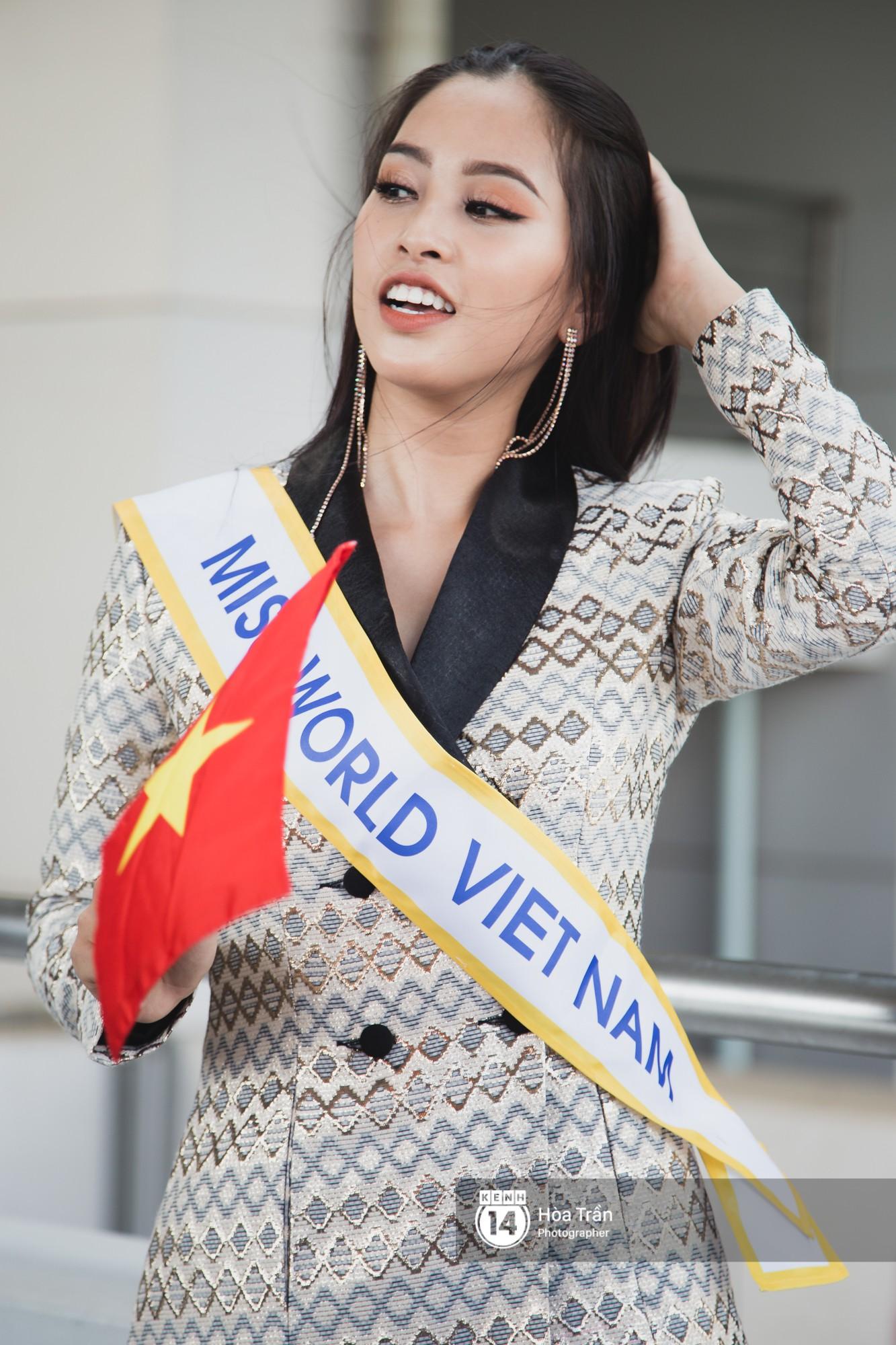 Trần Tiểu Vy sang Trung Quốc thi Miss World 2018- Ảnh 2.