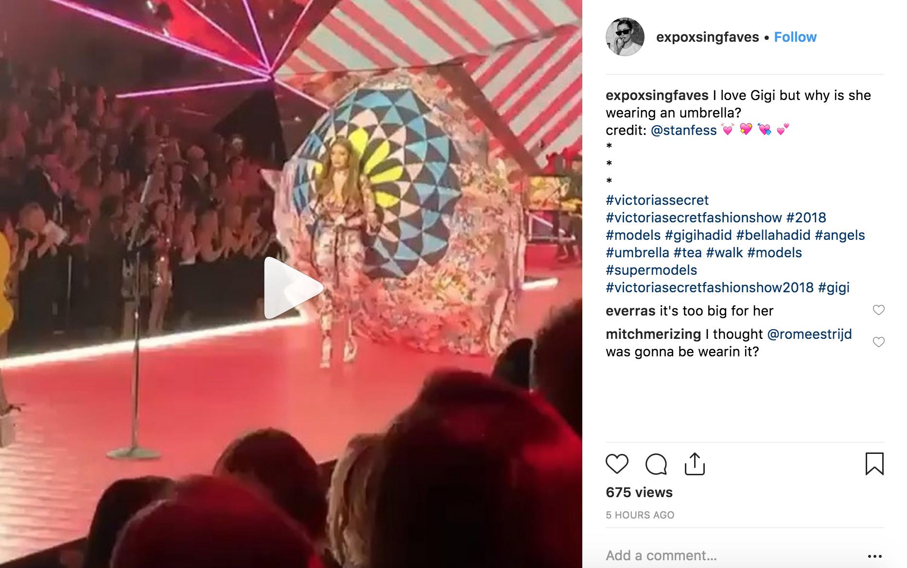 Gigi Hadid diễn nội y mà dân tình tưởng như cô nàng đang vác khinh khí cầu lên sàn diễn của Victorias Secret - Ảnh 4.