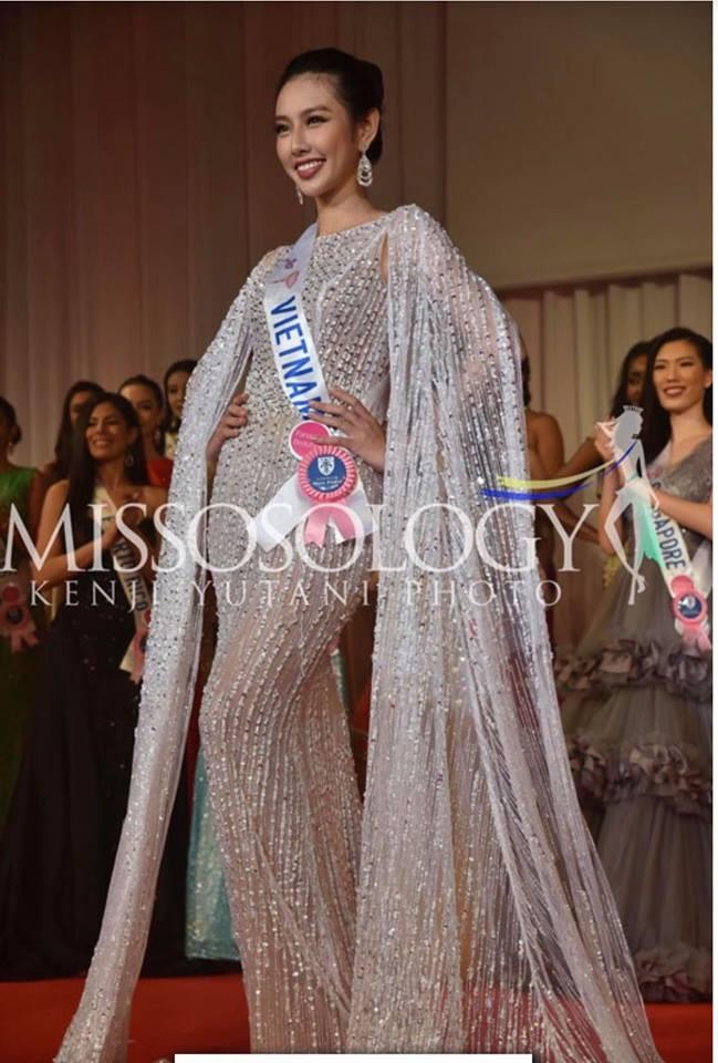 Venezuela đăng quang, đại diện Việt Nam trắng tay sau đêm thi chung kết kéo dài lê thê của Hoa hậu Quốc tế 2018 - Ảnh 8.