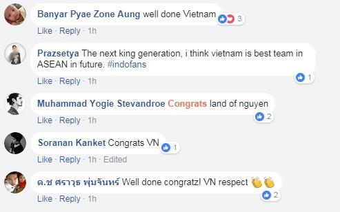 Fan Thái Lan, Indonesia, Malaysia... chúc mừng kỳ tích của U23 Việt Nam - Ảnh 3.