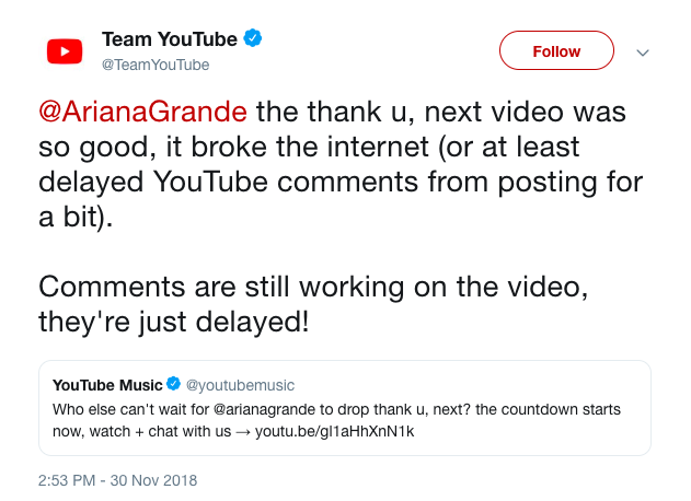 MV mới của Ariana Grande đánh sập Youtube, xác lập loạt kỷ lục mới chỉ sau 8 tiếng phát hành - Ảnh 3.