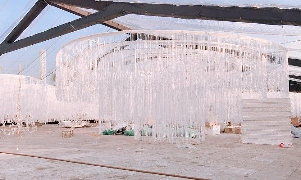 Xôn xao đám cưới trang trí hết 4 tỷ đồng ở Thái Nguyên, mời cả Đan Trường, Quang Hà về biểu diễn - Ảnh 4.
