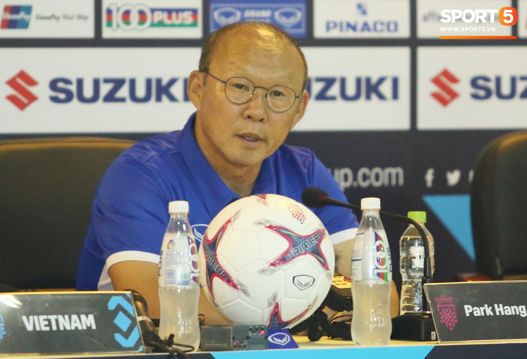 HLV Park Hang-seo: Tuyển Việt Nam chưa có màn trình diễn tốt nhất - Ảnh 1.