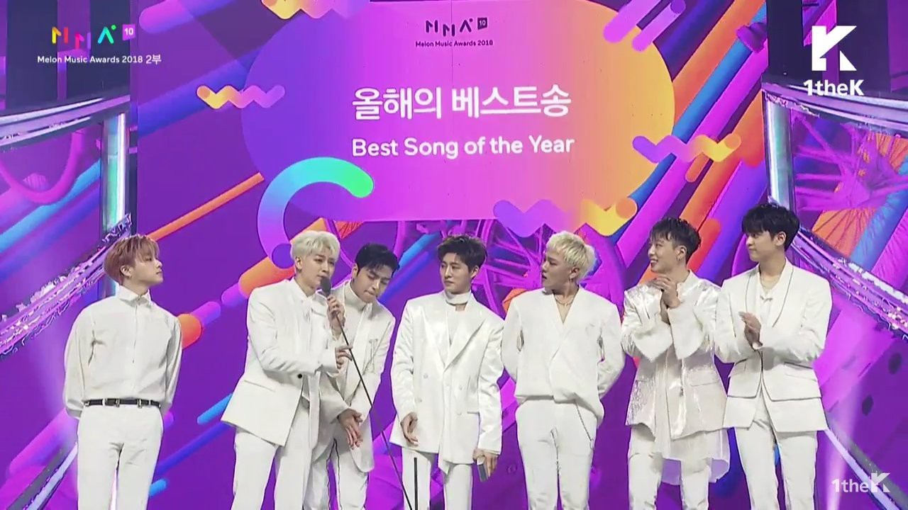 """MelOn Music Awards 2018: B.I mếu máo, đi không nổi khi iKON thắng Daesang, BTS """"ẵm"""" Daesang """"kép"""" - Ảnh 2."""