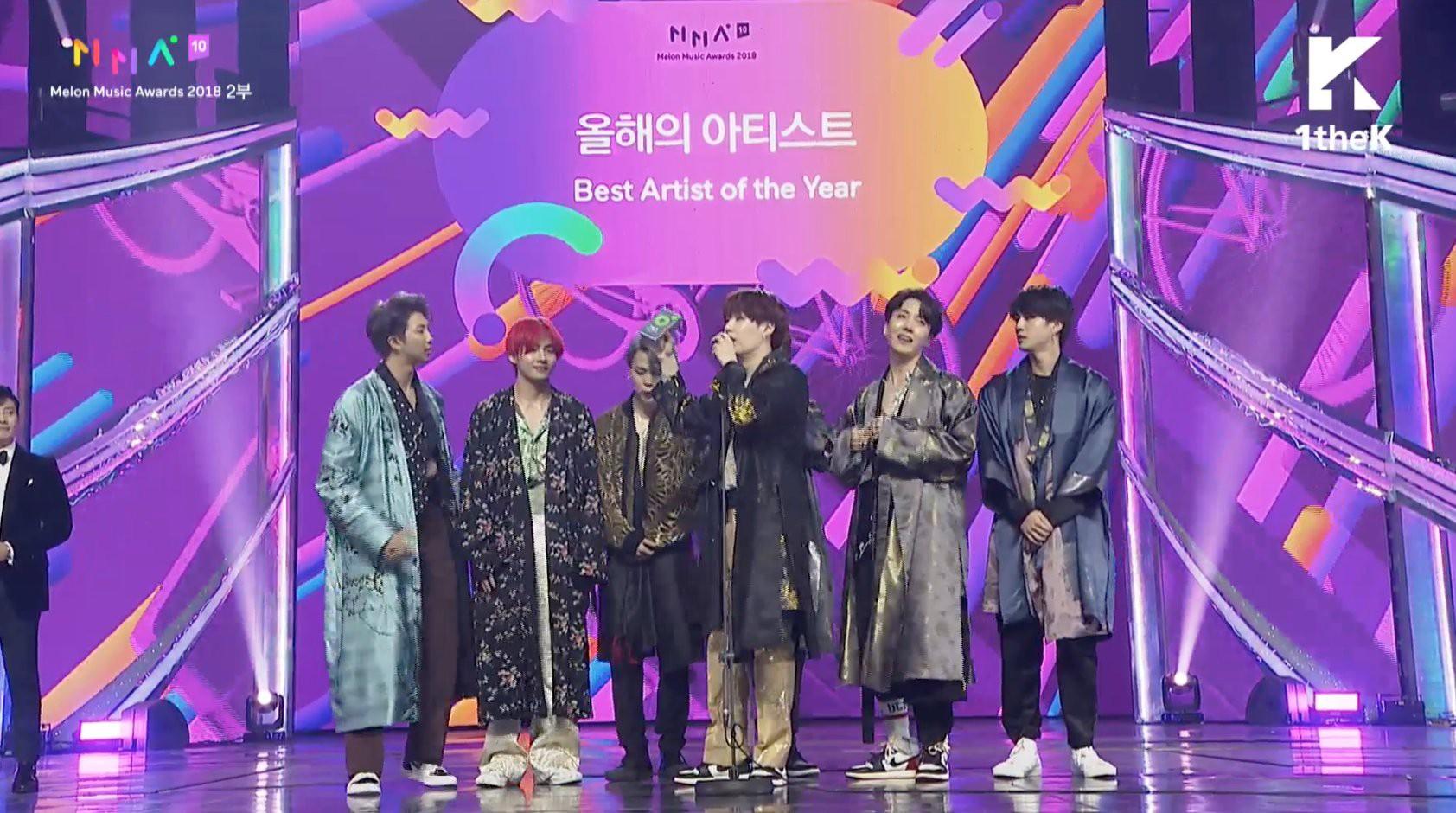 """MelOn Music Awards 2018: B.I mếu máo, đi không nổi khi iKON thắng Daesang, BTS """"ẵm"""" Daesang """"kép"""" - Ảnh 4."""