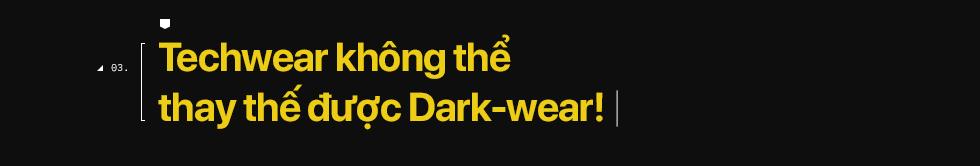 Dark-wear lụi tàn, Techwear lên ngôi: Khi những tín đồ bóng đêm nhường chỗ cho đặc công đường phố - Ảnh 10.