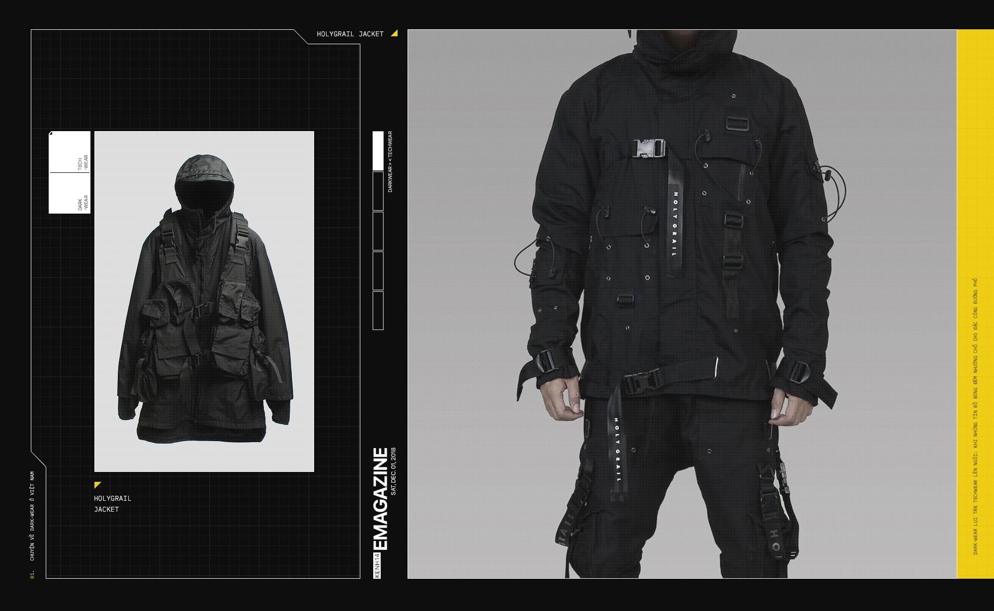 Dark-wear lụi tàn, Techwear lên ngôi: Khi những tín đồ bóng đêm nhường chỗ cho đặc công đường phố - Ảnh 5.