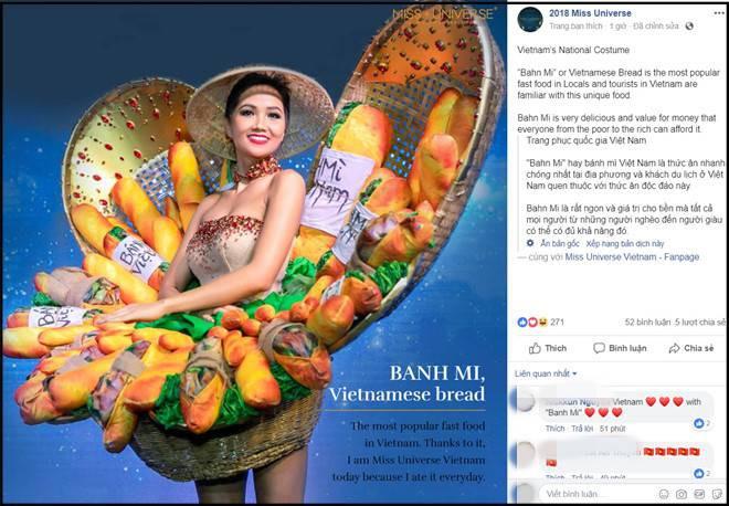 """H'Hen Niê tự tin trình diễn trang phục """"bánh mì"""" trên sân khấu Miss Universe 2018 - Ảnh 5."""