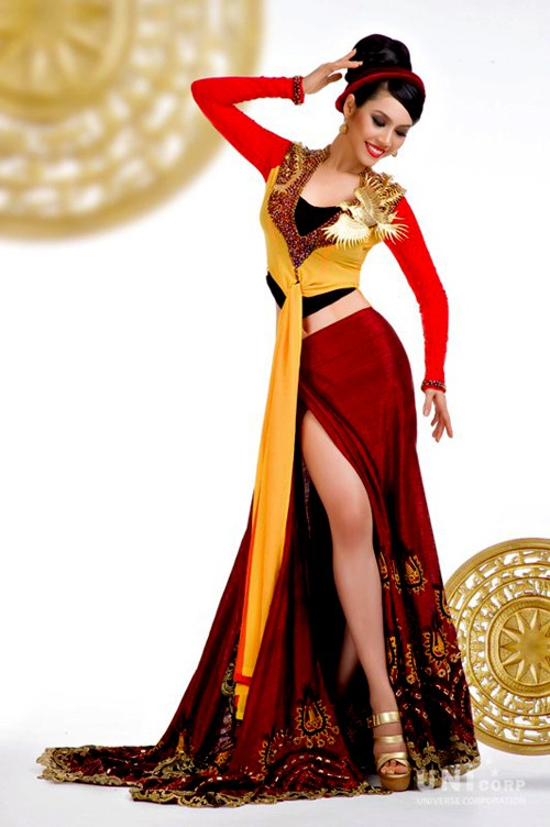 Trước Bánh Mì của H'Hen Niê, Việt Nam từng ghi dấu ấn tại Miss Universe bởi loạt quốc phục độc đáo này - Ảnh 8.