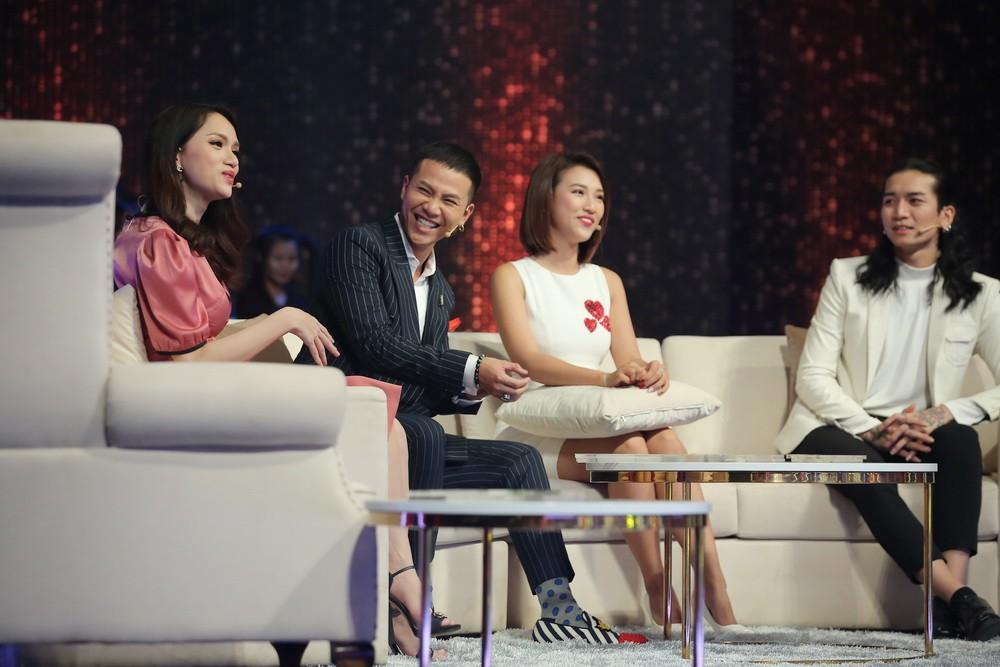 Đây là phản ứng của Hoàng Oanh khi được hỏi thăm về tình cũ Huỳnh Anh - Ảnh 3.