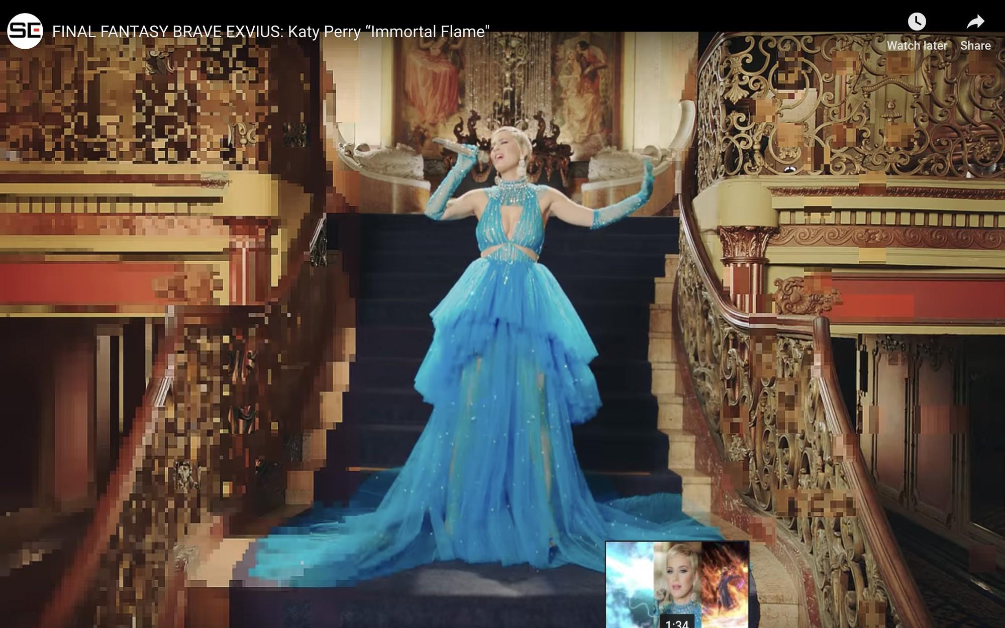 Mặc đi diễn đã thành thường lệ, giờ đây Katy Perry còn diện hẳn thiết kế Công Trí trong MV mới nhất - Ảnh 2.