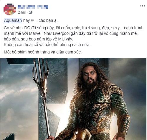 Fan Việt phát cuồng sau khi thưởng thức bom tấn siêu anh hùng Aquaman - Ảnh 2.