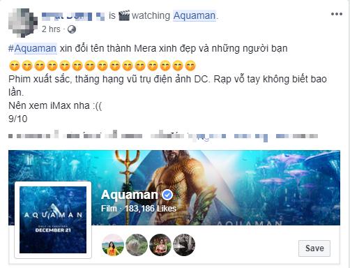 Fan Việt phát cuồng sau khi thưởng thức bom tấn siêu anh hùng Aquaman - Ảnh 5.