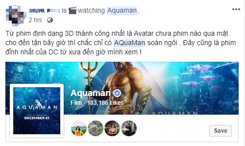 Fan Việt phát cuồng sau khi thưởng thức bom tấn siêu anh hùng Aquaman - Ảnh 6.