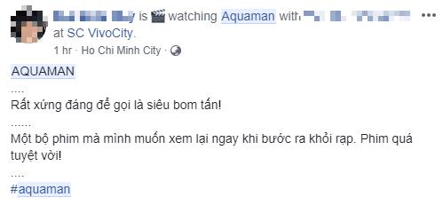 Fan Việt phát cuồng sau khi thưởng thức bom tấn siêu anh hùng Aquaman - Ảnh 8.