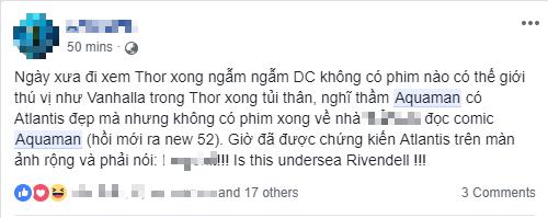 Fan Việt phát cuồng sau khi thưởng thức bom tấn siêu anh hùng Aquaman - Ảnh 9.