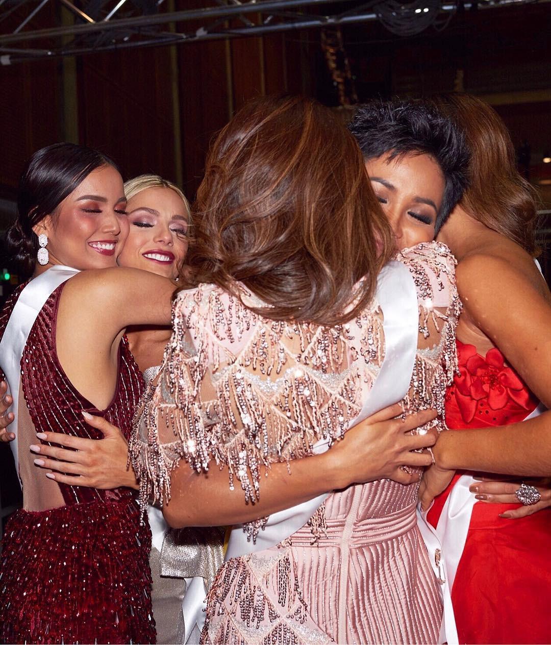 Hoa hậu Mỹ lên tiếng xin lỗi sau ồn ào chê trình độ tiếng Anh của H'Hen Niê - Ảnh 1.