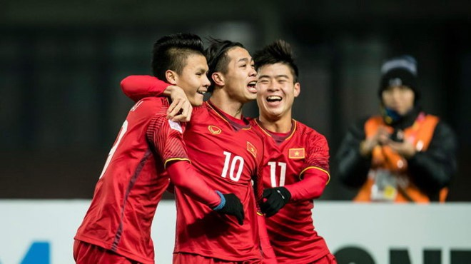 Phim bị Đội tuyển Việt Nam chiếm sóng, Lee Min Jung vẫn lên mạng chúc đội tuyển Việt nam chiến thắng - Ảnh 2.