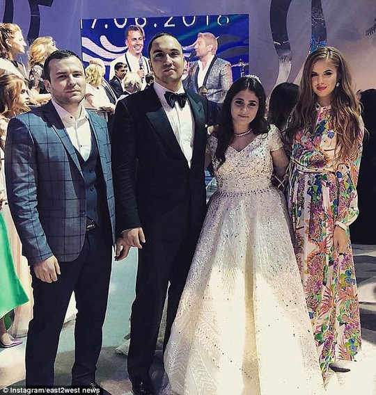 Tổng hợp những lễ cưới rình rang hoành tráng nhất thế giới năm 2018 - Ảnh 4.