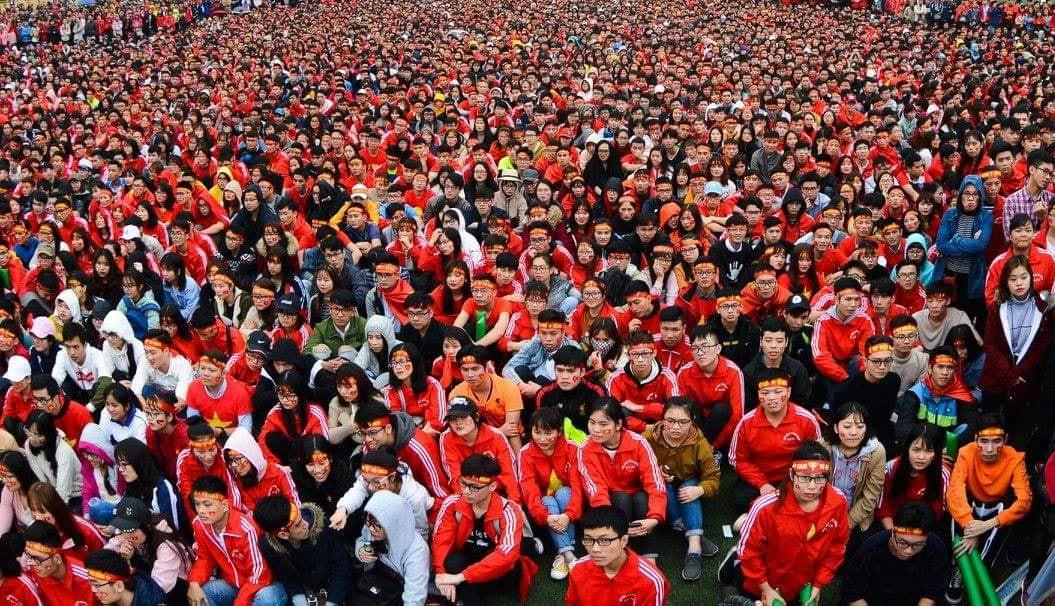 Offline hàng loạt trường Đại học lớn nhất nước, sẵn sàng cháy hết mình cùng đội tuyển Việt Nam - Ảnh 2.