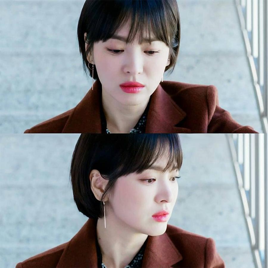 """Sở hữu BST khuyên tai tinh tế hết mực, chẳng trách Song Hye Kyo lúc nào cũng trang nhã và đẹp """"siêu thực"""" trong Encounter - Ảnh 1."""