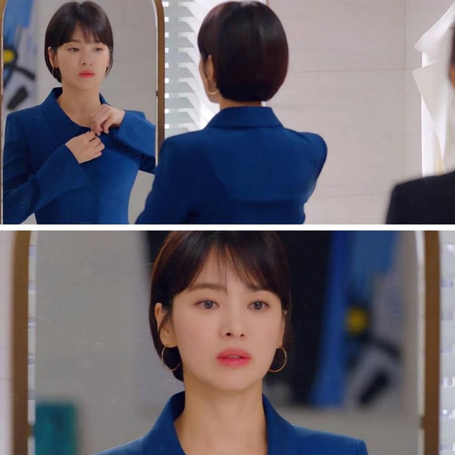 """Sở hữu BST khuyên tai tinh tế hết mực, chẳng trách Song Hye Kyo lúc nào cũng trang nhã và đẹp """"siêu thực"""" trong Encounter - Ảnh 2."""