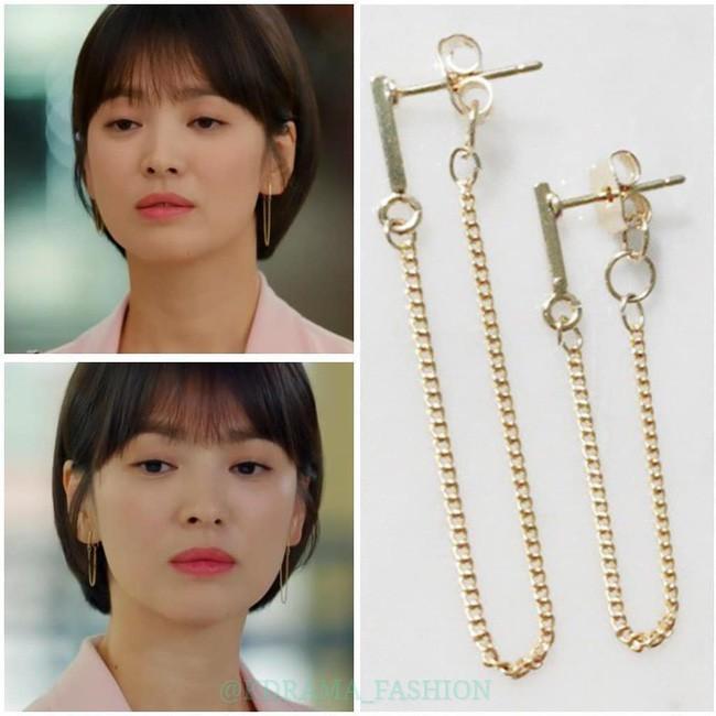 """Sở hữu BST khuyên tai tinh tế hết mực, chẳng trách Song Hye Kyo lúc nào cũng trang nhã và đẹp """"siêu thực"""" trong Encounter - Ảnh 11."""