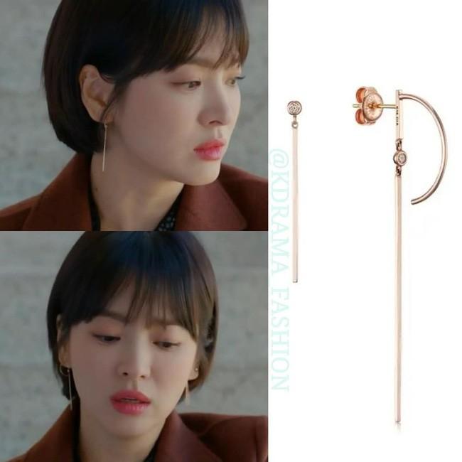 """Sở hữu BST khuyên tai tinh tế hết mực, chẳng trách Song Hye Kyo lúc nào cũng trang nhã và đẹp """"siêu thực"""" trong Encounter - Ảnh 4."""