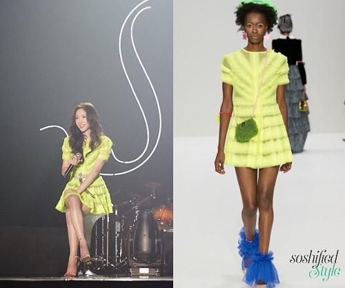 Diện chung 1 mẫu váy, Taeyeon ấn tượng hơn hẳn Jessica chỉ nhờ một chi tiết - Ảnh 7.