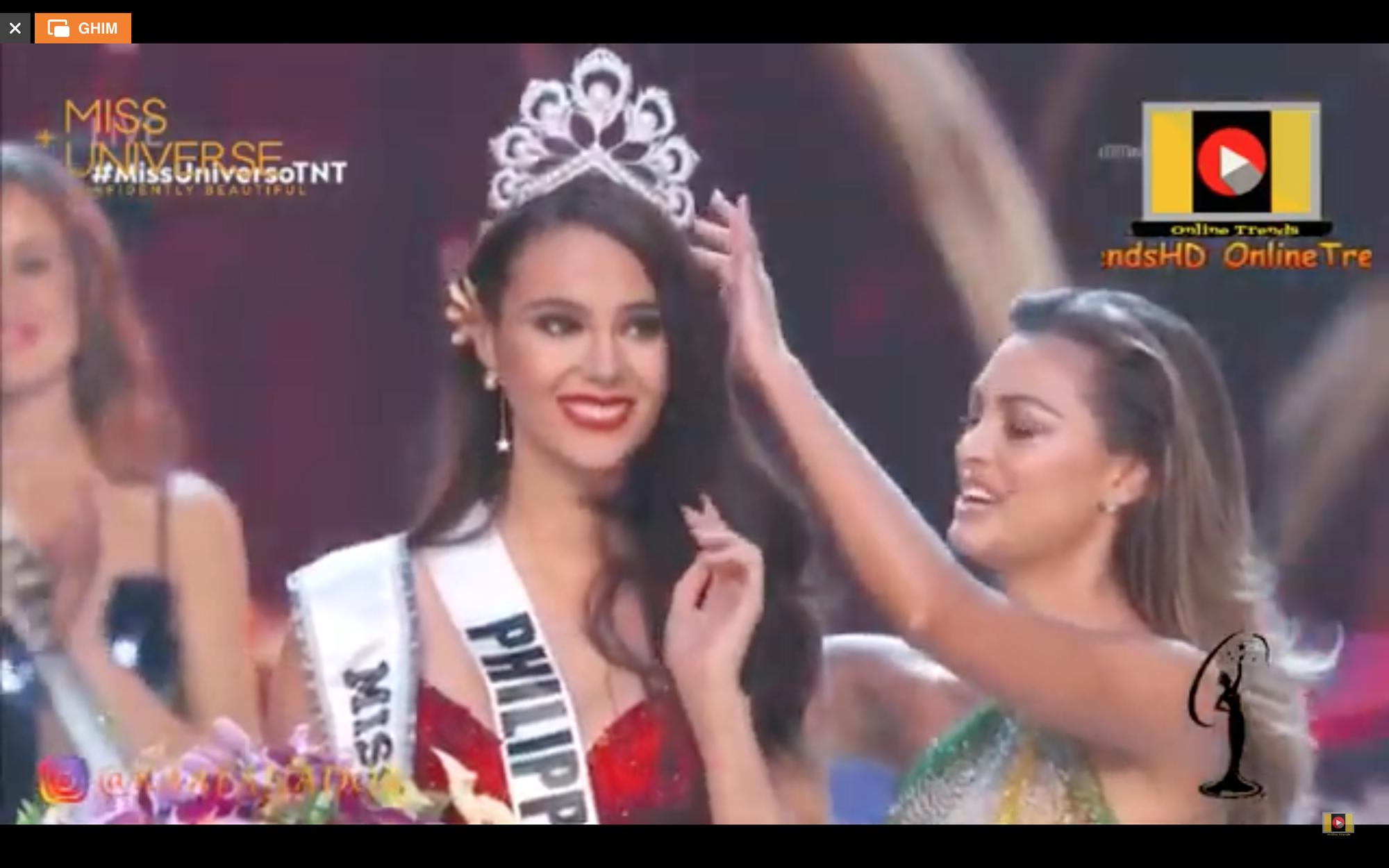 Hoa hậu Philippines Catriona Gray đăng quang Miss Universe 2018 - Ảnh 1.