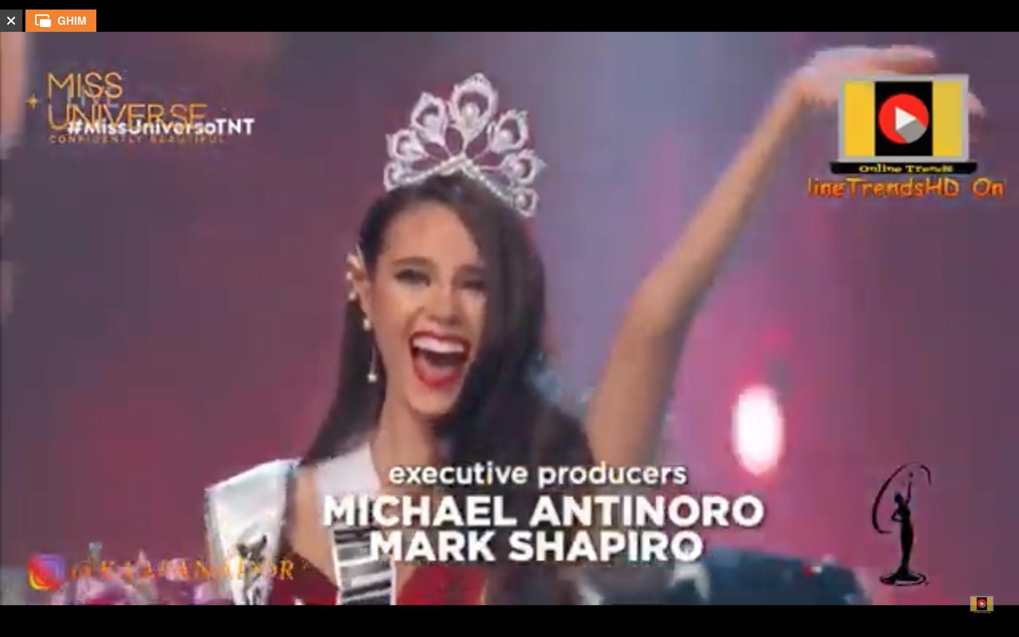Hoa hậu Philippines Catriona Gray đăng quang Miss Universe 2018 - Ảnh 2.