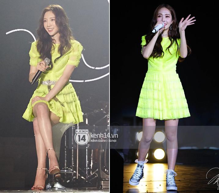 Diện chung 1 mẫu váy, Taeyeon ấn tượng hơn hẳn Jessica chỉ nhờ một chi tiết - Ảnh 9.