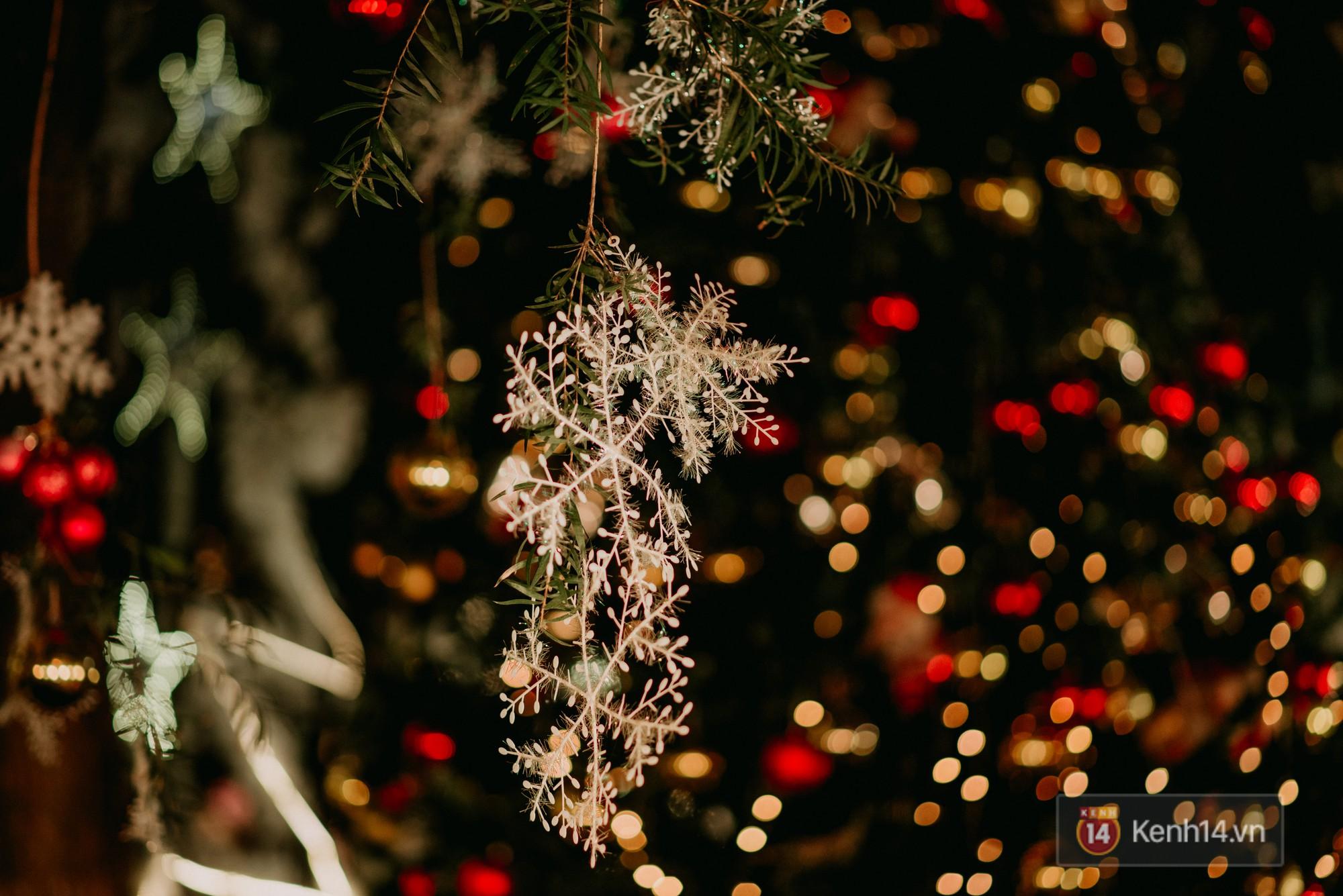 Trường ĐH con nhà giàu này đang là trường trang trí Noel đẹp nhất nước, có máy phun tuyết nhân tạo, tha hồ sống ảo - Ảnh 15.