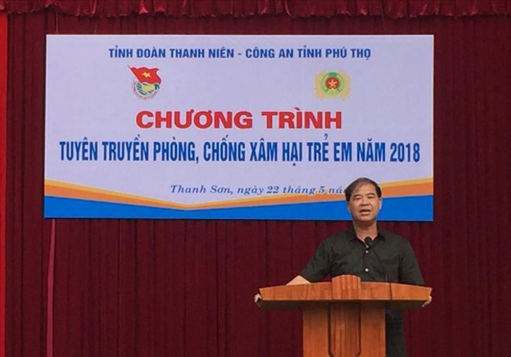 Hiệu trưởng dâm ô nhiều nam sinh ở Phú Thọ đã xin lỗi toàn trường - Ảnh 1.