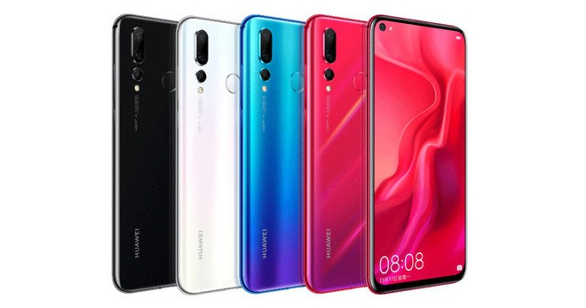 Nova 4: Smartphone màn hình đục lỗ đầu tiên của Huawei, trang bị 3