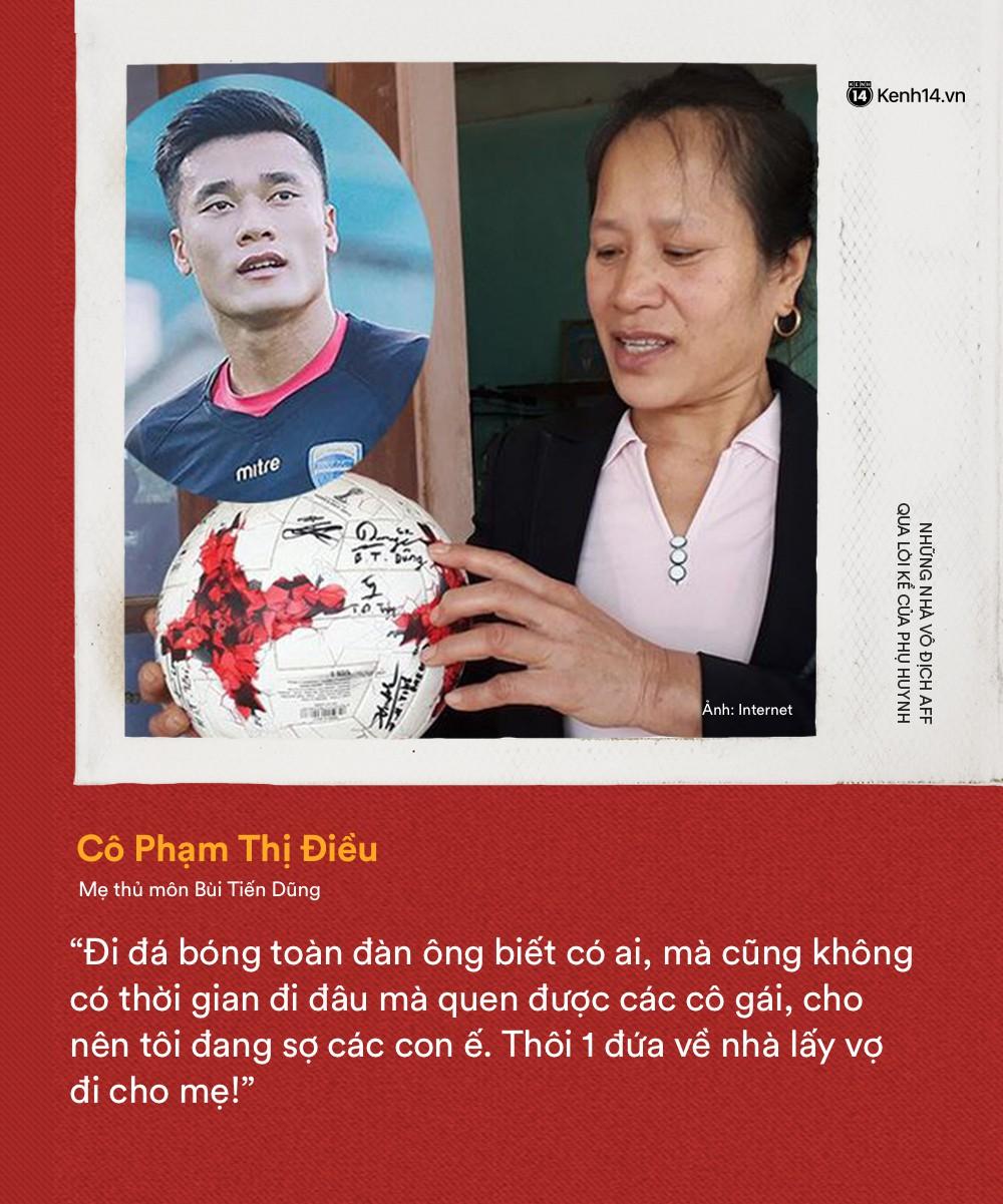 Trên sân mạnh mẽ ra sao không biết, sau tất cả các nhà vô địch AFF 2018 cũng chỉ là cậu con trai đáng yêu của mẹ mà thôi - Ảnh 1.