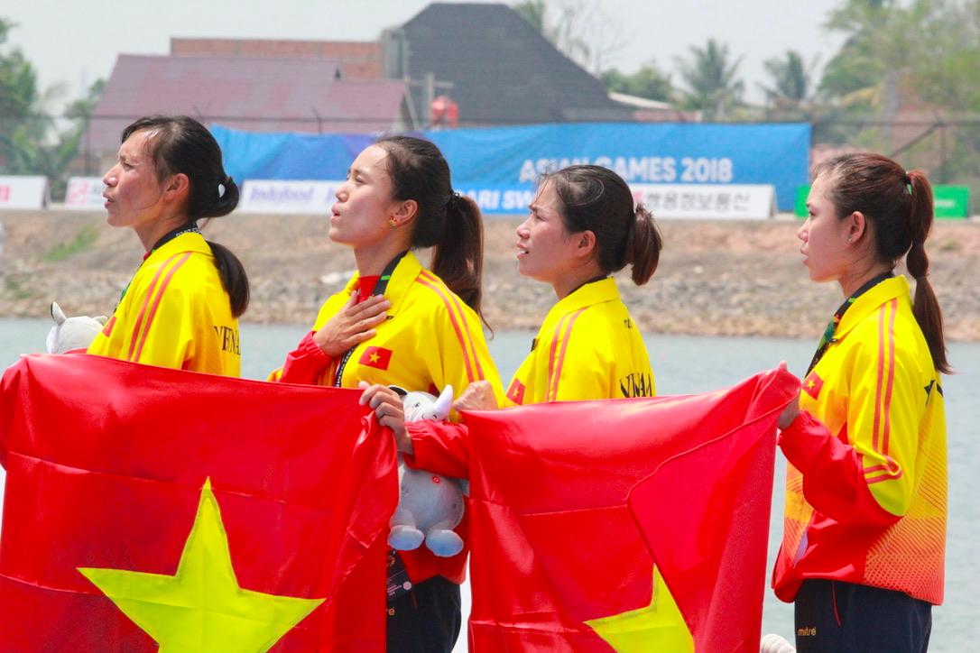 4 cô gái giành huy chương vàng Asiad cho Rowing Việt Nam: Những bông sen đá chiến đấu trong âm thầm - Ảnh 8.