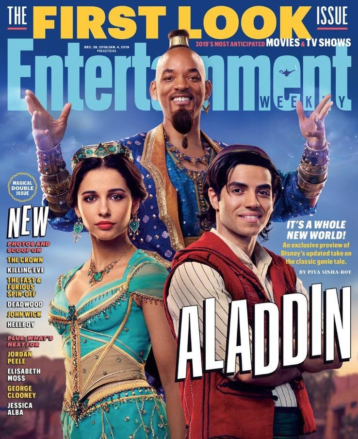 """Mê mẩn trước vẻ cuốn hút của nàng công chúa Jasmine vừa lộ diện trong """"Aladdin"""" bản người đóng - Ảnh 1."""