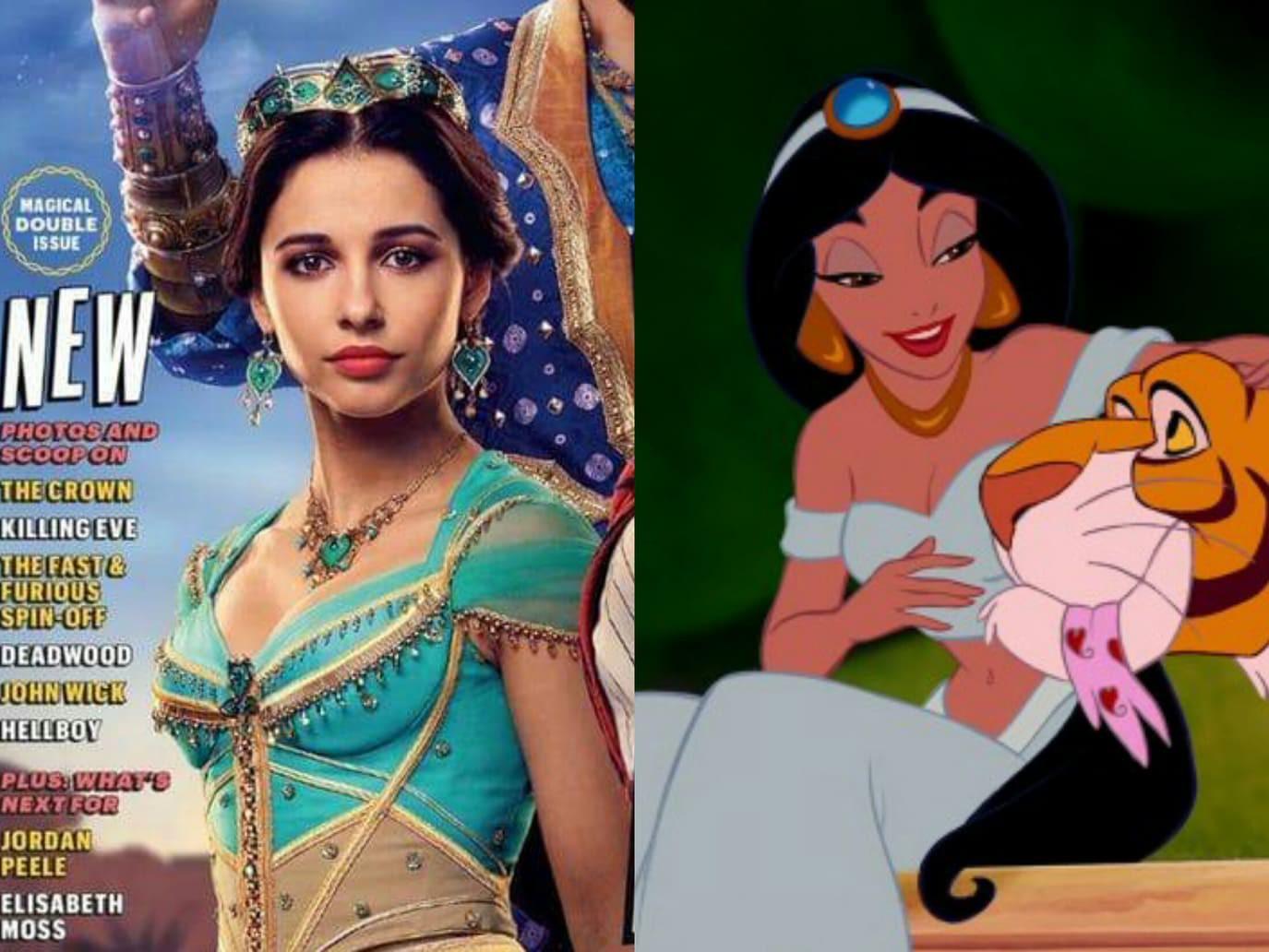 """Mê mẩn trước vẻ cuốn hút của nàng công chúa Jasmine vừa lộ diện trong """"Aladdin"""" bản người đóng - Ảnh 2."""
