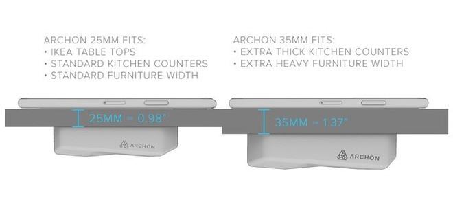 Archon: Sạc không dây đầu tiên sạc xuyên qua mặt bàn, dùng cho cả iPhone và Android, giá từ 1,4 triệu - Ảnh 5.