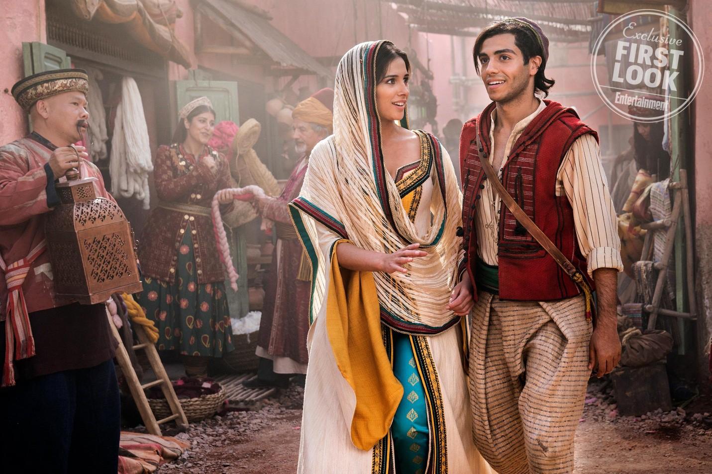 """Mê mẩn trước vẻ cuốn hút của nàng công chúa Jasmine vừa lộ diện trong """"Aladdin"""" bản người đóng - Ảnh 5."""