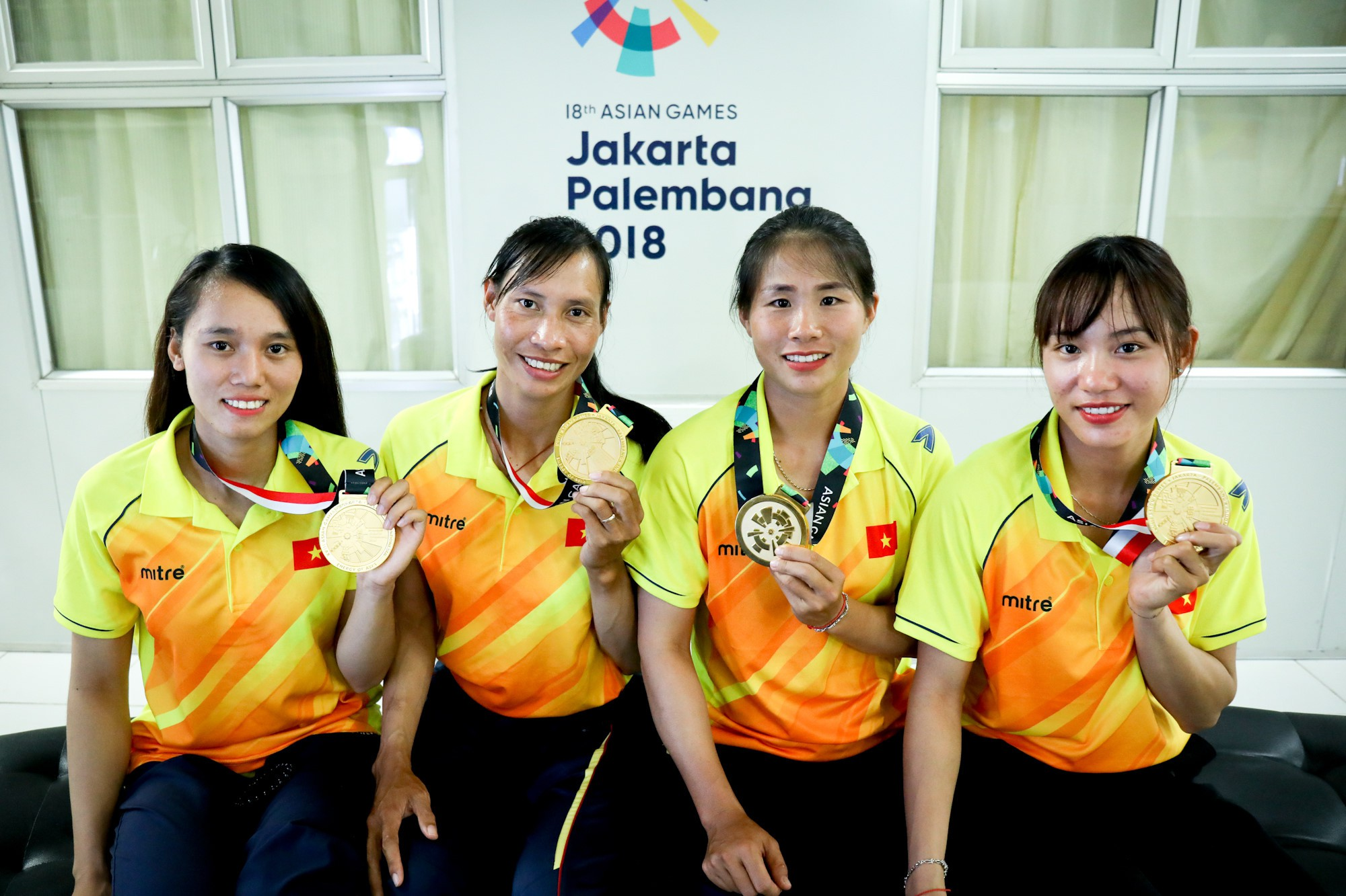4 cô gái giành huy chương vàng Asiad cho Rowing Việt Nam: Những bông sen đá chiến đấu trong âm thầm - Ảnh 3.